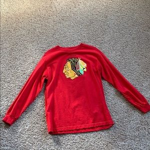 Size medium Chicago Blackhawks shirt